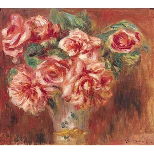 Quadro -Rosas en un jarrón-