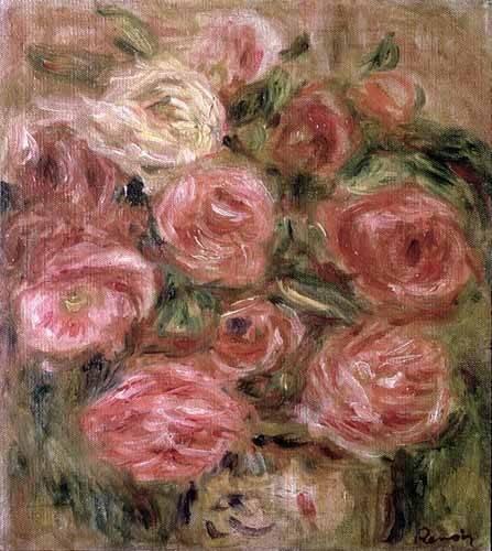 cuadros de flores - Cuadro -Flores- - Renoir, Pierre Auguste