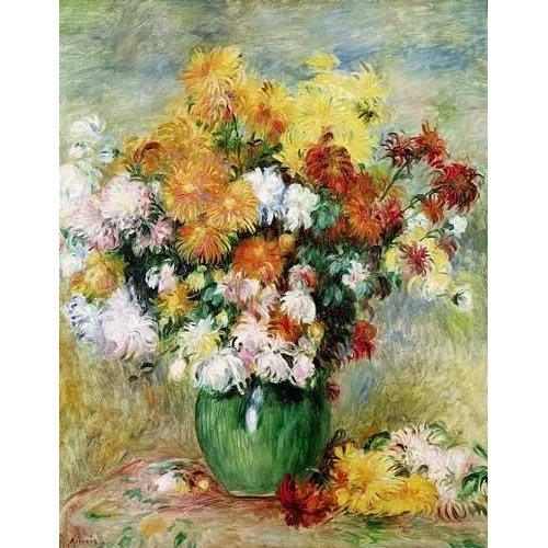 Cuadro -Bouquet de Crisantemos-