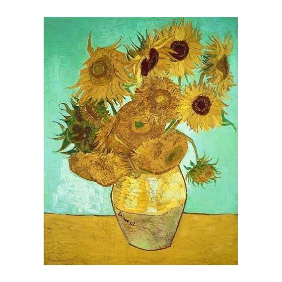 imagens de flores - Quadro -Girasoles 3-
