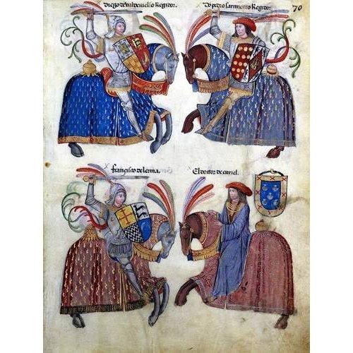 Quadro -Libro de los caballeros de Santiago-2-