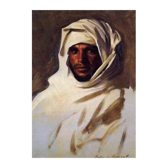 ethnic and oriental paintings - Picture -A Bedouin Arab-