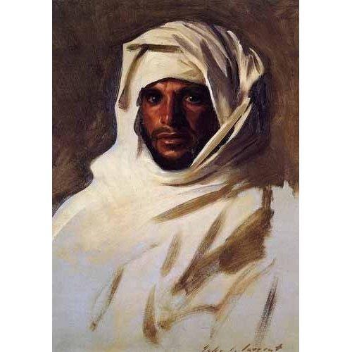 imagens étnicas e leste - Quadro -A Bedouin Arab-