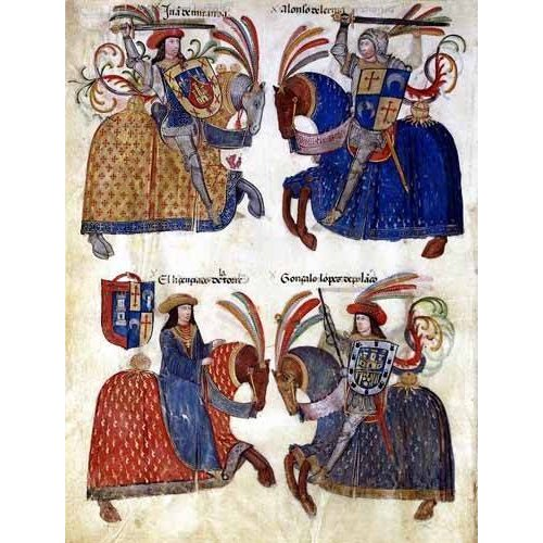 Quadro -Libro de los caballeros de Santiago-3-