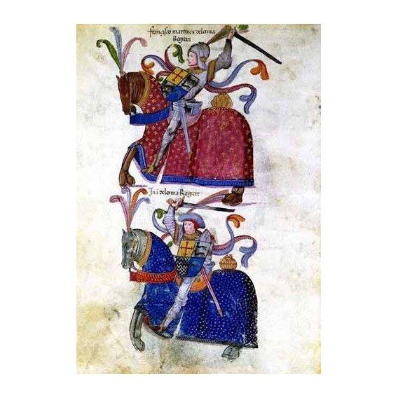 imagens de mapas, gravuras e aquarelas - Quadro -Libro de los caballeros de Santiago-5-