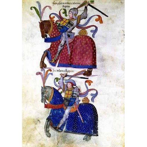 Cuadro -Libro de los caballeros de Santiago-5-
