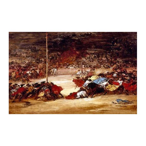imagens de mapas, gravuras e aquarelas - Quadro -La corrida-