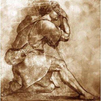 imagens de mapas, gravuras e aquarelas - Quadro -Moses- - Rafael, Sanzio da Urbino Raffael