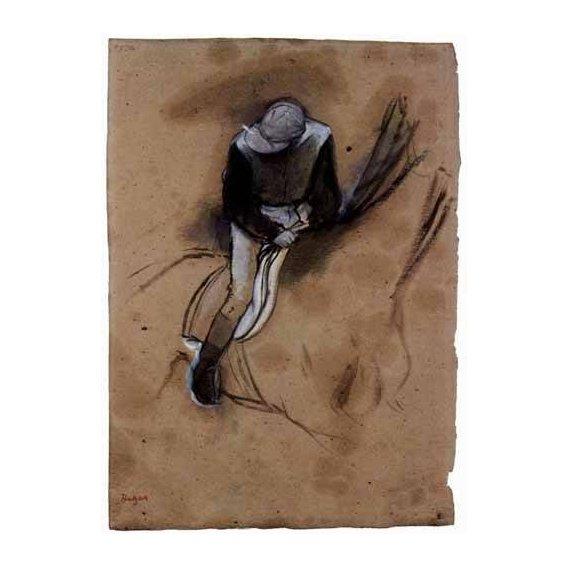 imagens de mapas, gravuras e aquarelas - Quadro -El jockey-