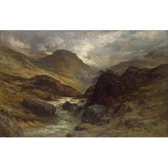 imagens de mapas, gravuras e aquarelas - Quadro -La garganta- - Doré, Gustave