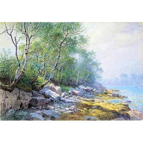 Quadro -Seal Harbor Mount Desert Maine-