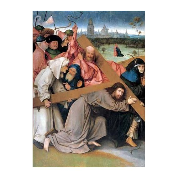 religious paintings - Picture -Cristo portando la cruz-