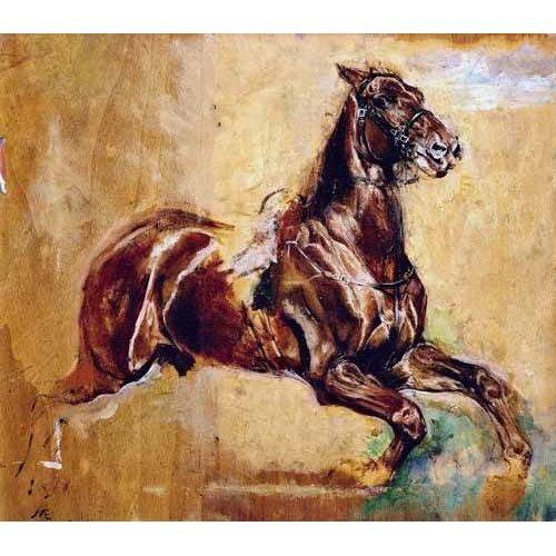Quadro -Estudio de caballo-