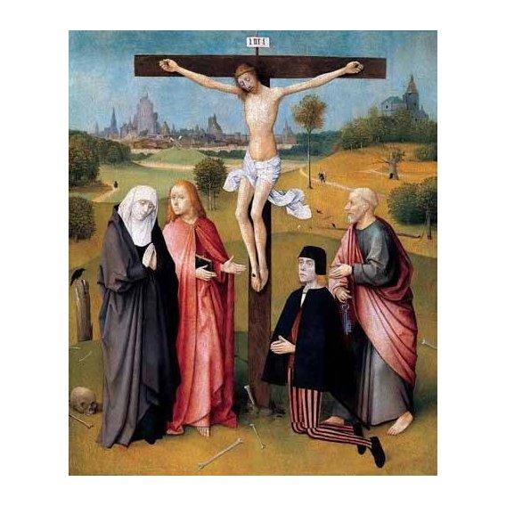 imagens religiosas - Quadro -La Crucifixión-