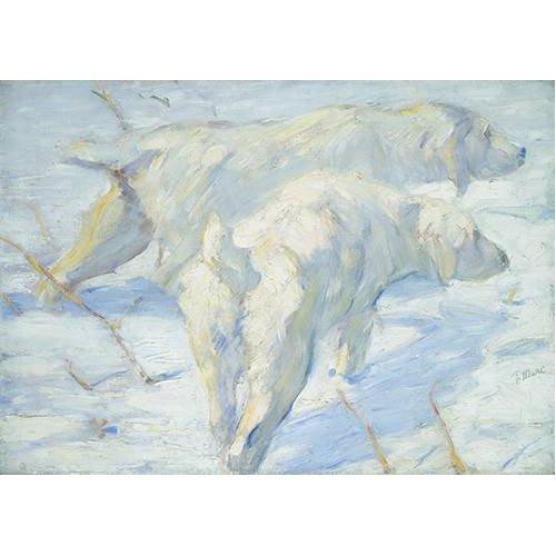 Quadro -Perros pastores siberianos-