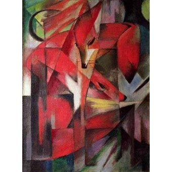 quadros de animais - Quadro -Los Zorros- - Marc, Franz