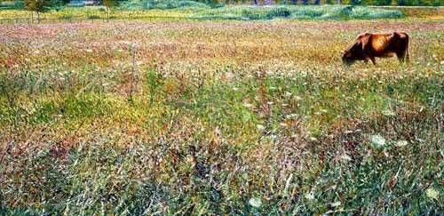 quadros-de-paisagens - Quadro -Roman countryside- - Boccioni, Umberto