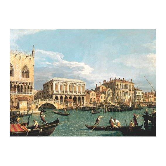 pinturas de paisagens marinhas - Quadro -La Mole vista desde San Marco-