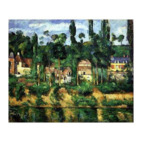 pinturas de paisagens - Quadro -El castillo de Medan-