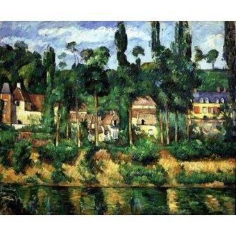 - Quadro -El castillo de Medan- - Cezanne, Paul