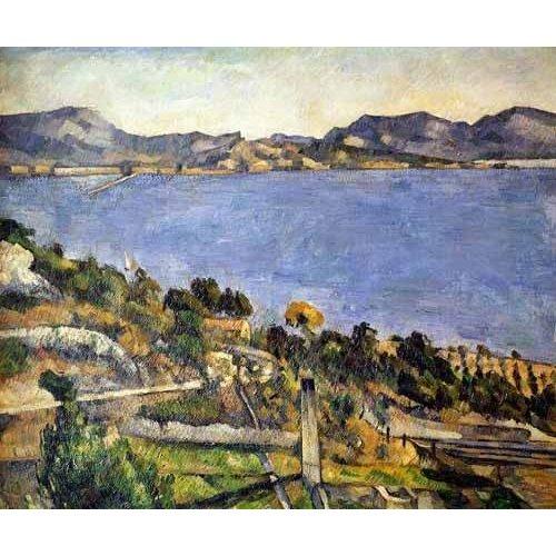 Quadro -La bahía de Marsella desde L´Estaque-