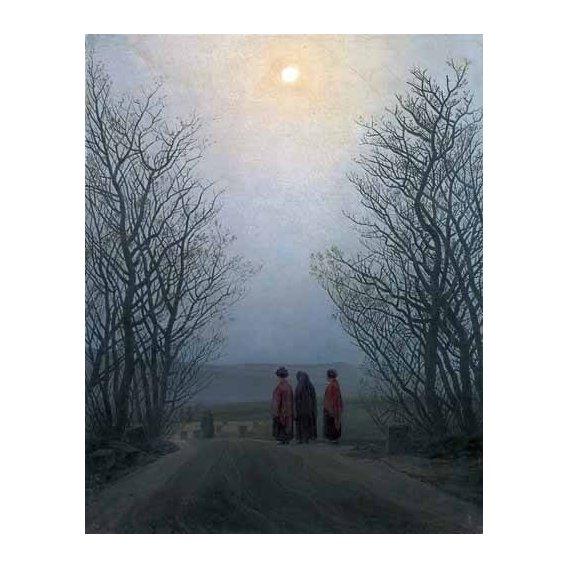 pinturas de paisagens - Quadro -La punta de la galera-