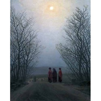 - Quadro -Mañana de Pascua- - Friedrich, Caspar David