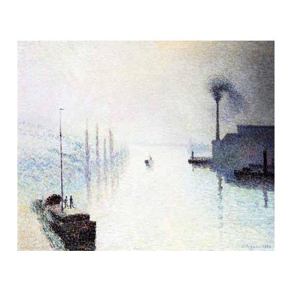 pinturas de paisagens marinhas - Quadro -Marina-