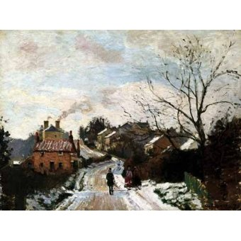 - Quadro -Lower Norwood bajo la nieve- - Pissarro, Camille