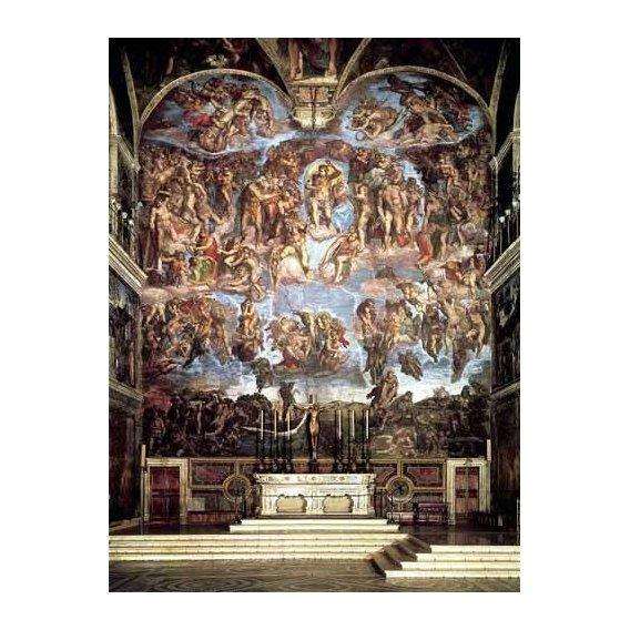 imagens religiosas - Quadro -Retablo: Juicio final-
