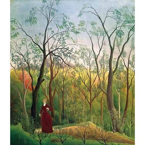 Quadro -Paseo por el bosque-
