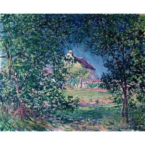 pinturas de paisagens - Quadro -Lindero del bosque en la primavera-