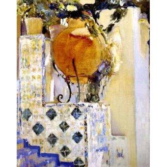 - Quadro -Jardín de la casa del artista VI- - Sorolla, Joaquin