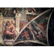 Quadro -Bóveda: El Castigo de Amán, el Profeta Jeremias-