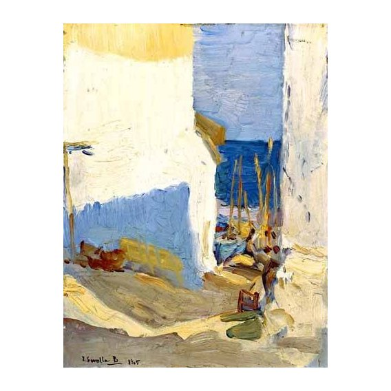 pinturas de paisagens - Quadro -Boceto valenciano II-