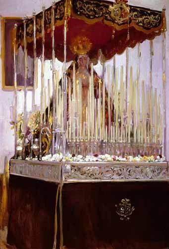 quadros-de-paisagens - Quadro -La Virgen de los Reyes- - Sorolla, Joaquin
