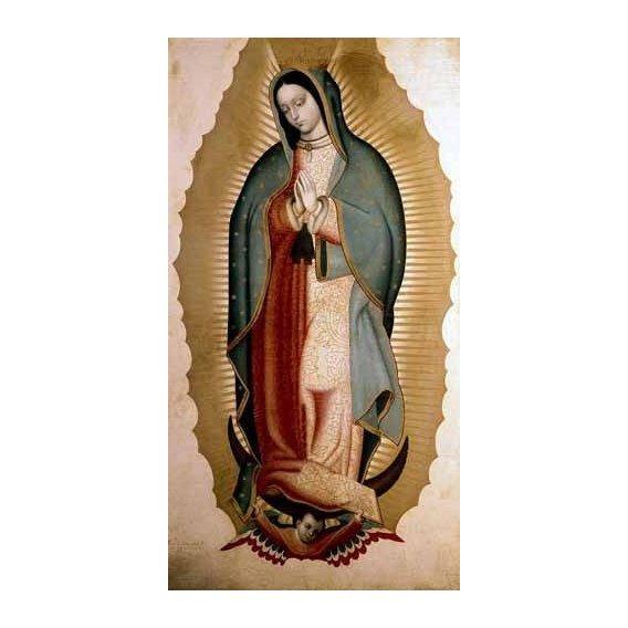 religious paintings - Picture -La Virgen de Guadalupe-
