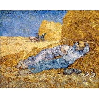 landscapes - Picture -La siesta- - Van Gogh, Vincent