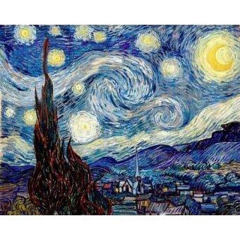 landscapes - Picture -La noche estrellada- - Van Gogh, Vincent