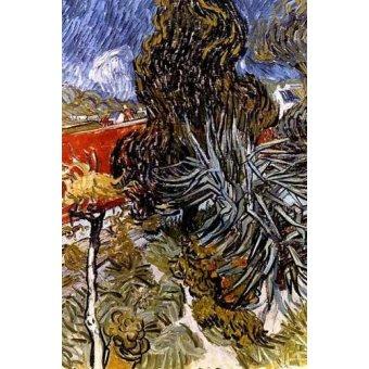- Quadro -El jardín del doctor Gachet en Auvers-sur-Oise- - Van Gogh, Vincent