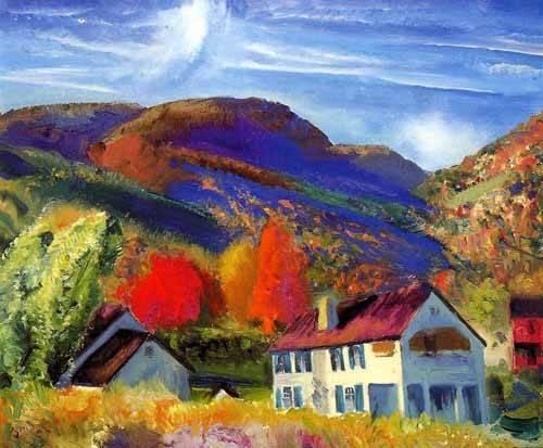 quadros-de-paisagens - Quadro -Mi casa, Woodstock- - Bellows, George
