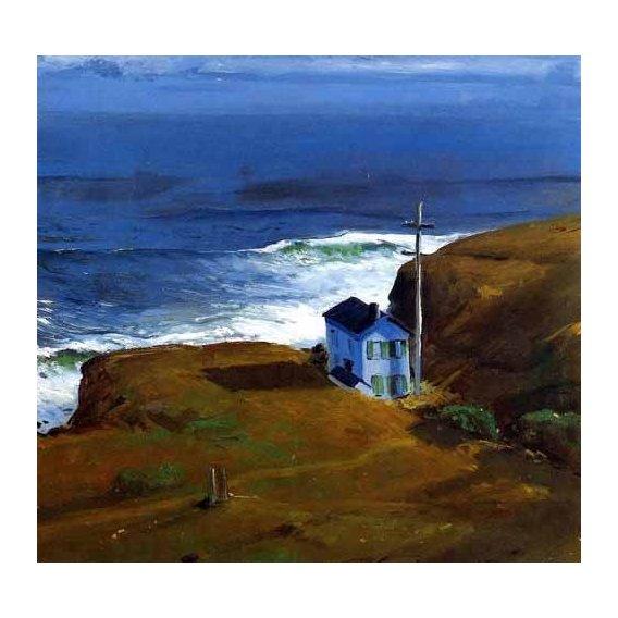 pinturas de paisagens marinhas - Quadro -Shore House-