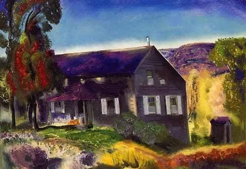 quadros-de-paisagens - Quadro -Black House- - Bellows, George