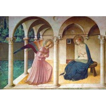 quadros religiosos - Quadro -Da Anunciação- - Fra Angelico, G. Da Fisole