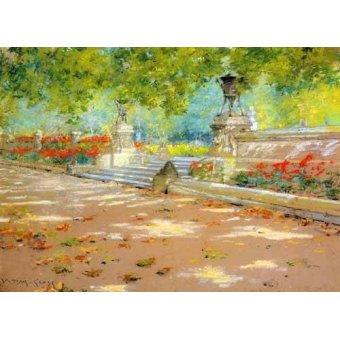 - Quadro -Merritt Terrace Prospect Park- - Chase, William