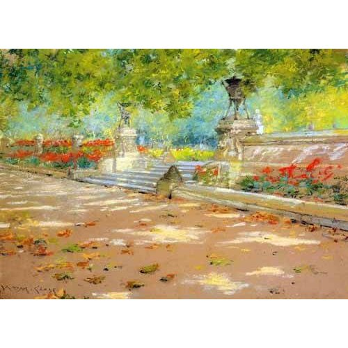 Quadro -Merritt Terrace Prospect Park-