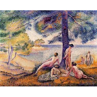 - Quadro -Un sitio en la sombra- - Cross, Henri Edmond
