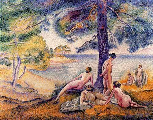quadros-de-paisagens - Quadro -Un sitio en la sombra- - Cross, Henri Edmond