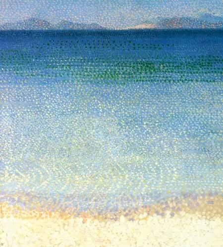 quadros-de-paisagens-marinhas - Quadro -Las islas de Oro- - Cross, Henri Edmond