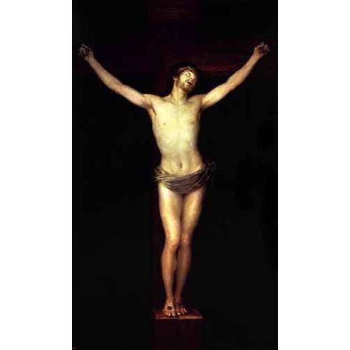 Quadro -Cristo crucificado, (de Goya)-